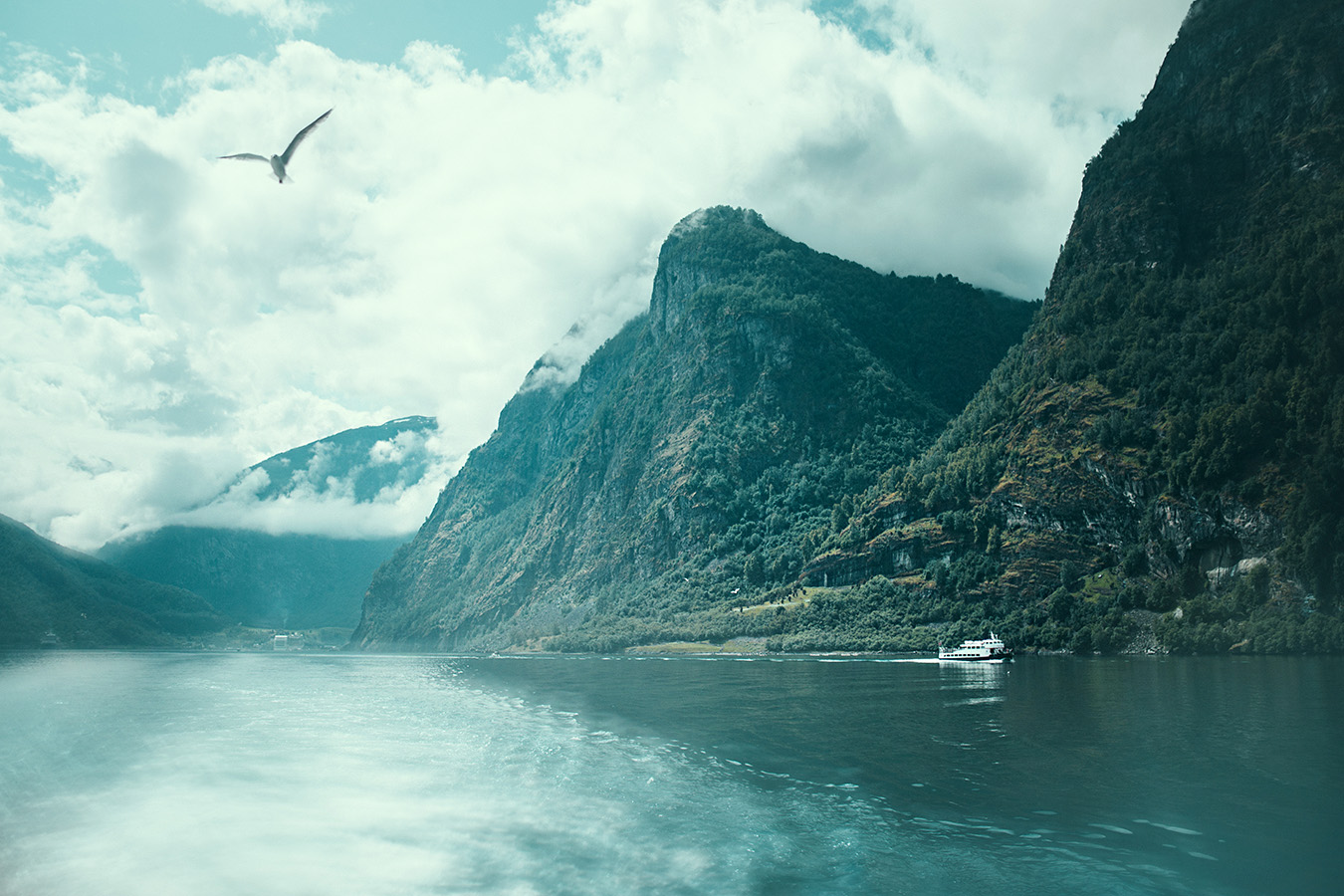 Flåm, Aurlandsfjord