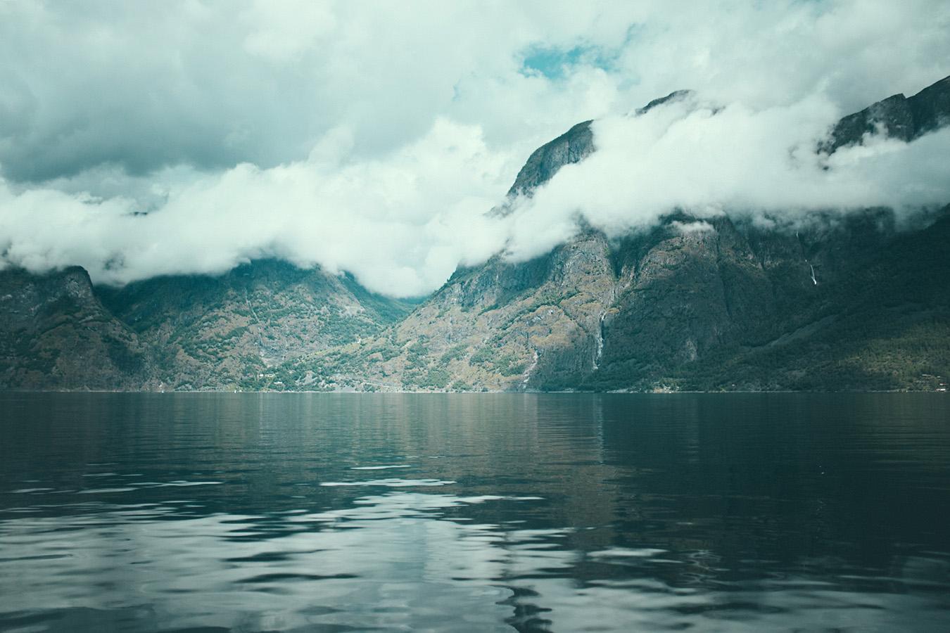 Skjerdal, Aurlandsfjord