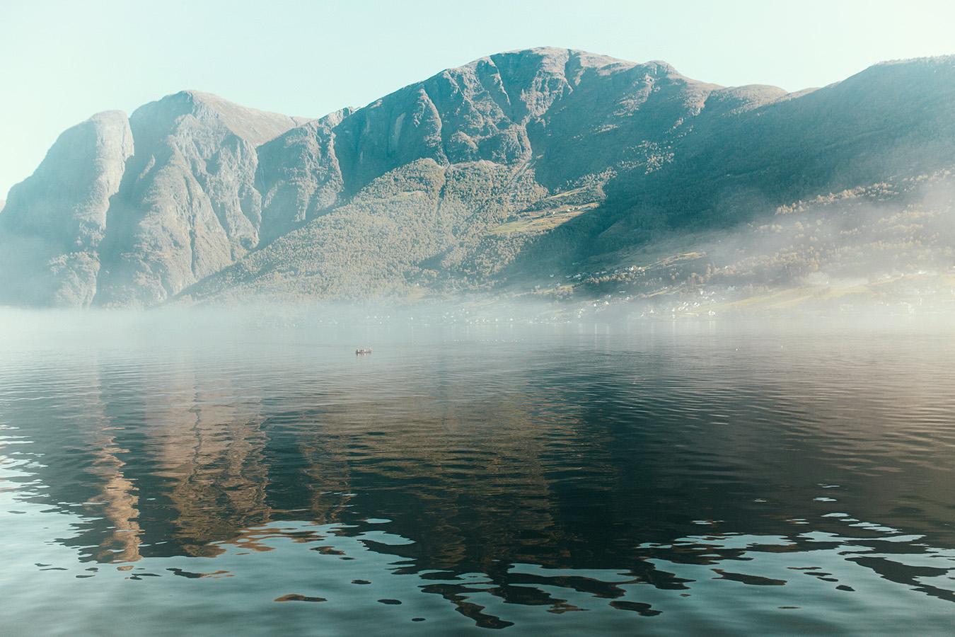 Aurland, Aurlandsfjord