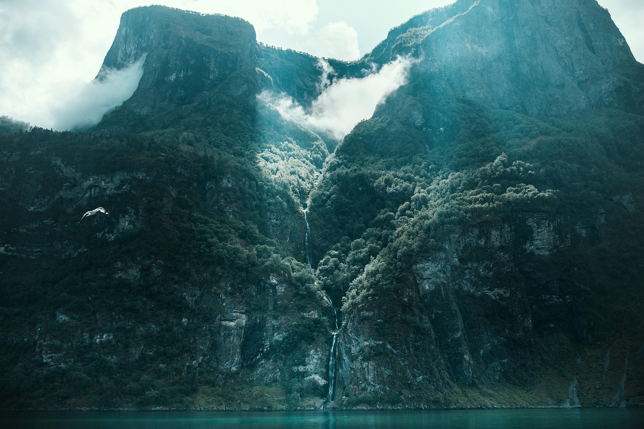 Undredal, Aurlandsfjord