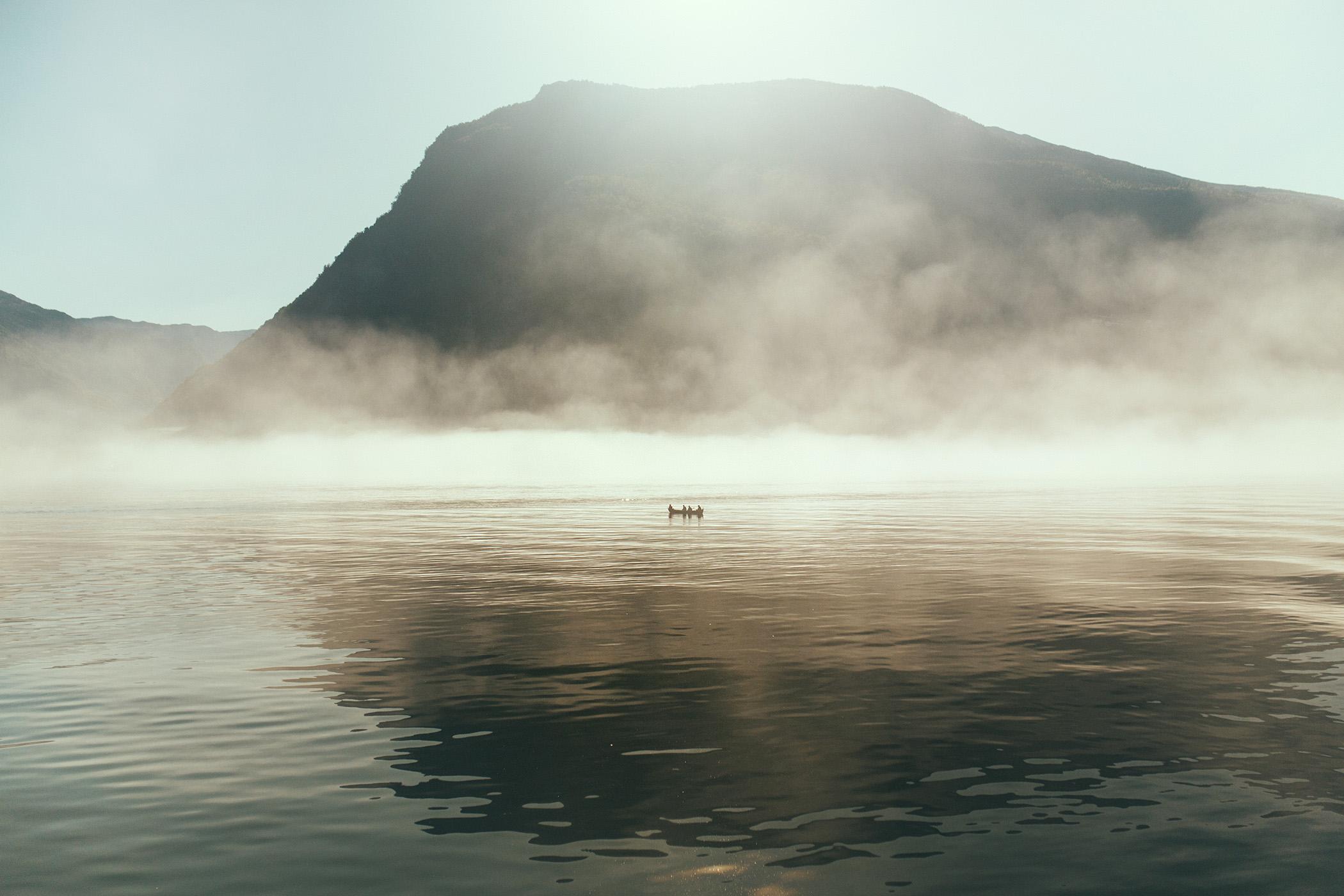 mgła, Aurlandsfjord