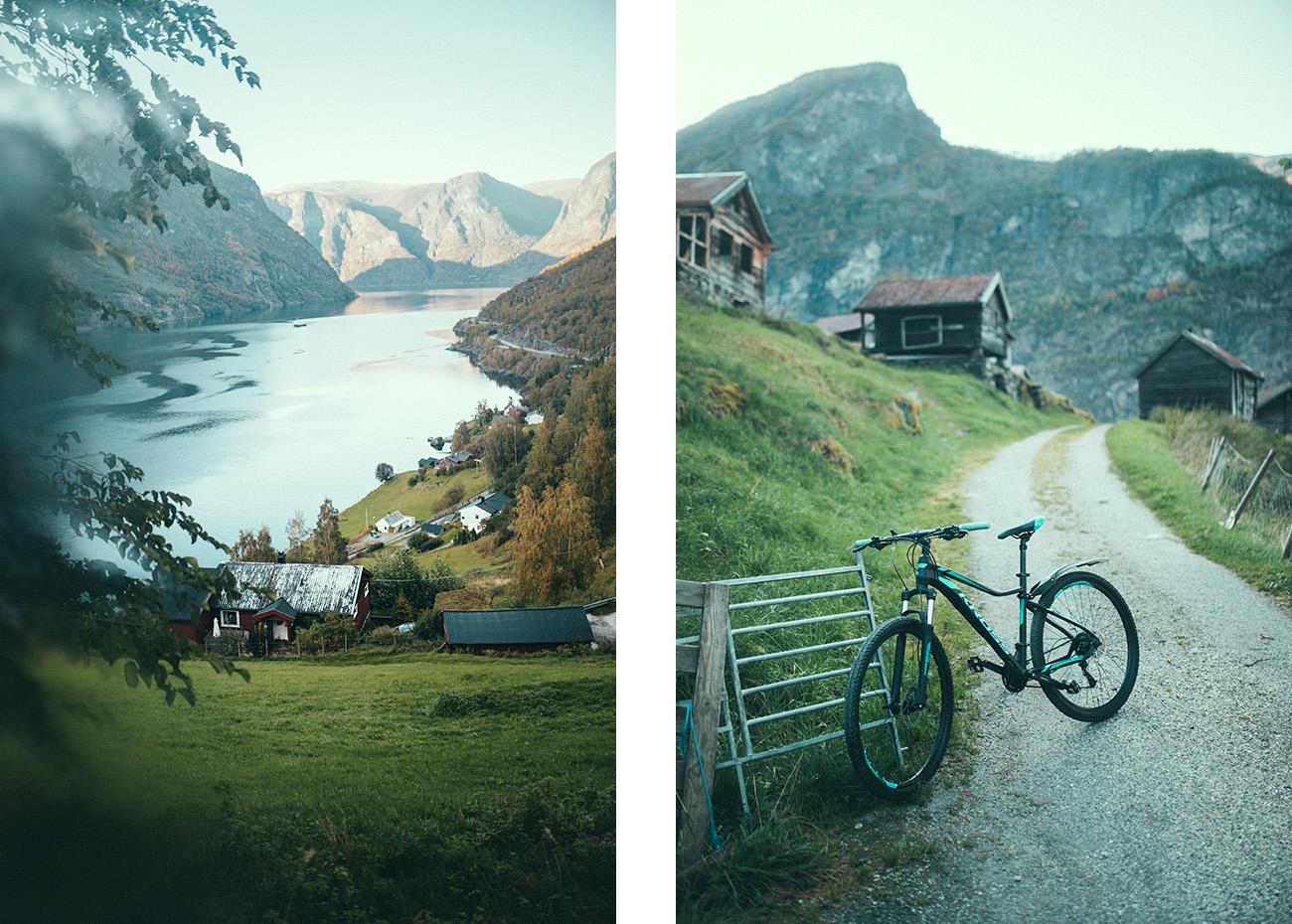 Otternes rowerem, Norwegia