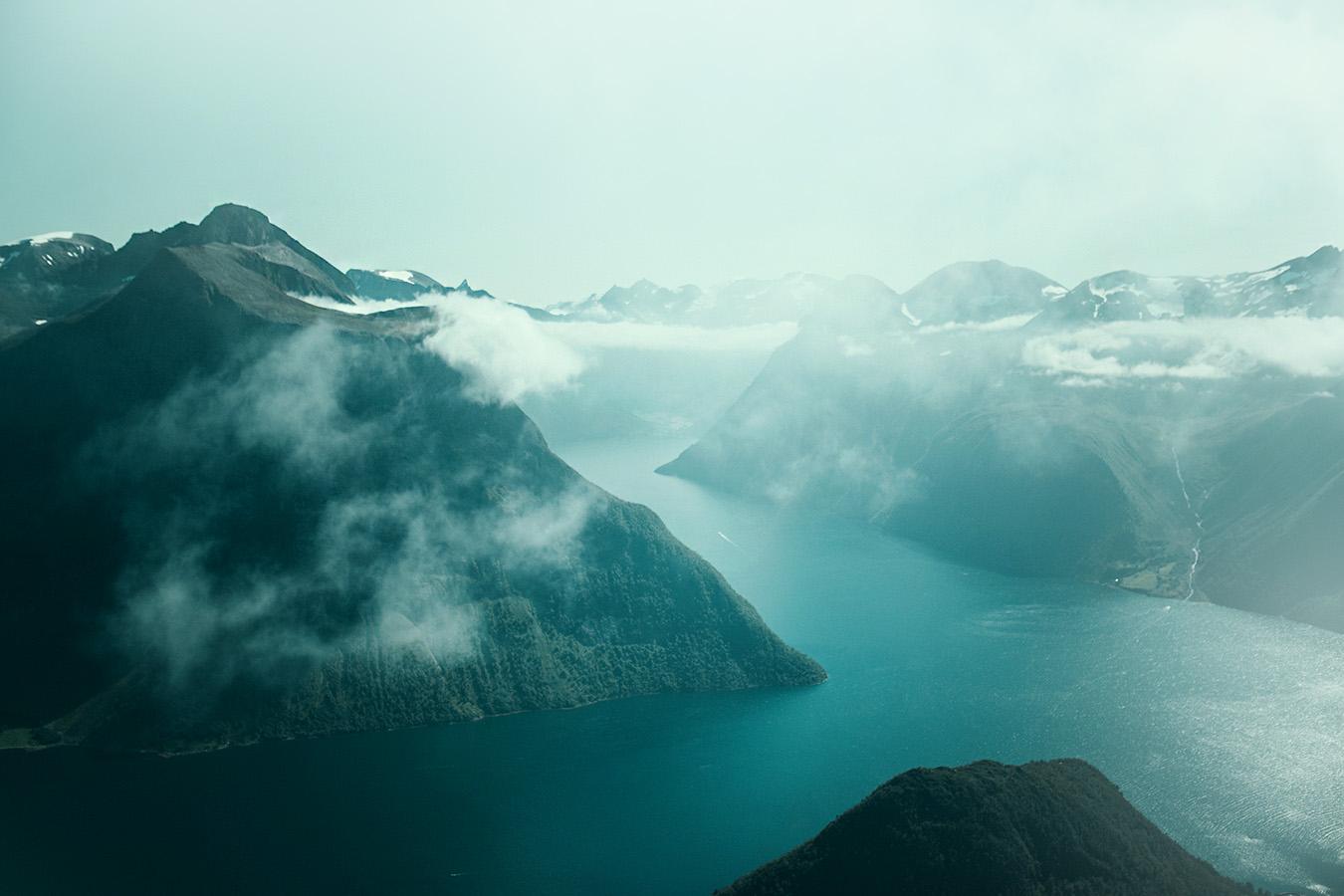 Hjørundfjord, Norwegia