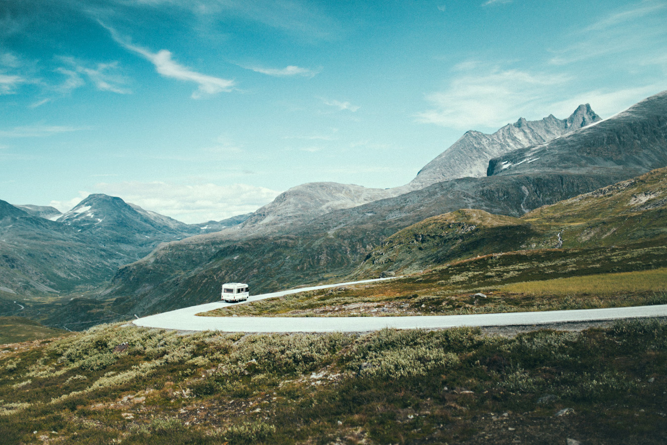 Sognefjellet, okolice Turtargø, Norwegia