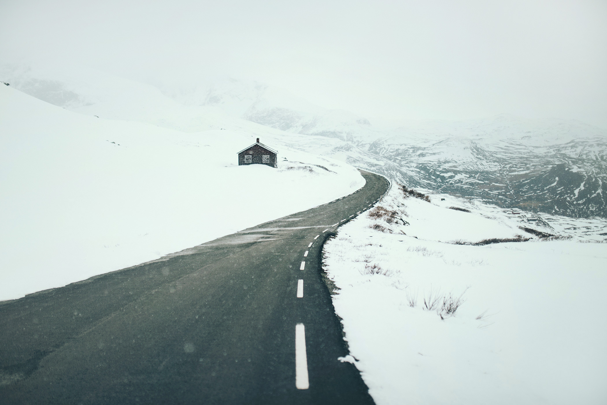 wiosna, Sognefjellet