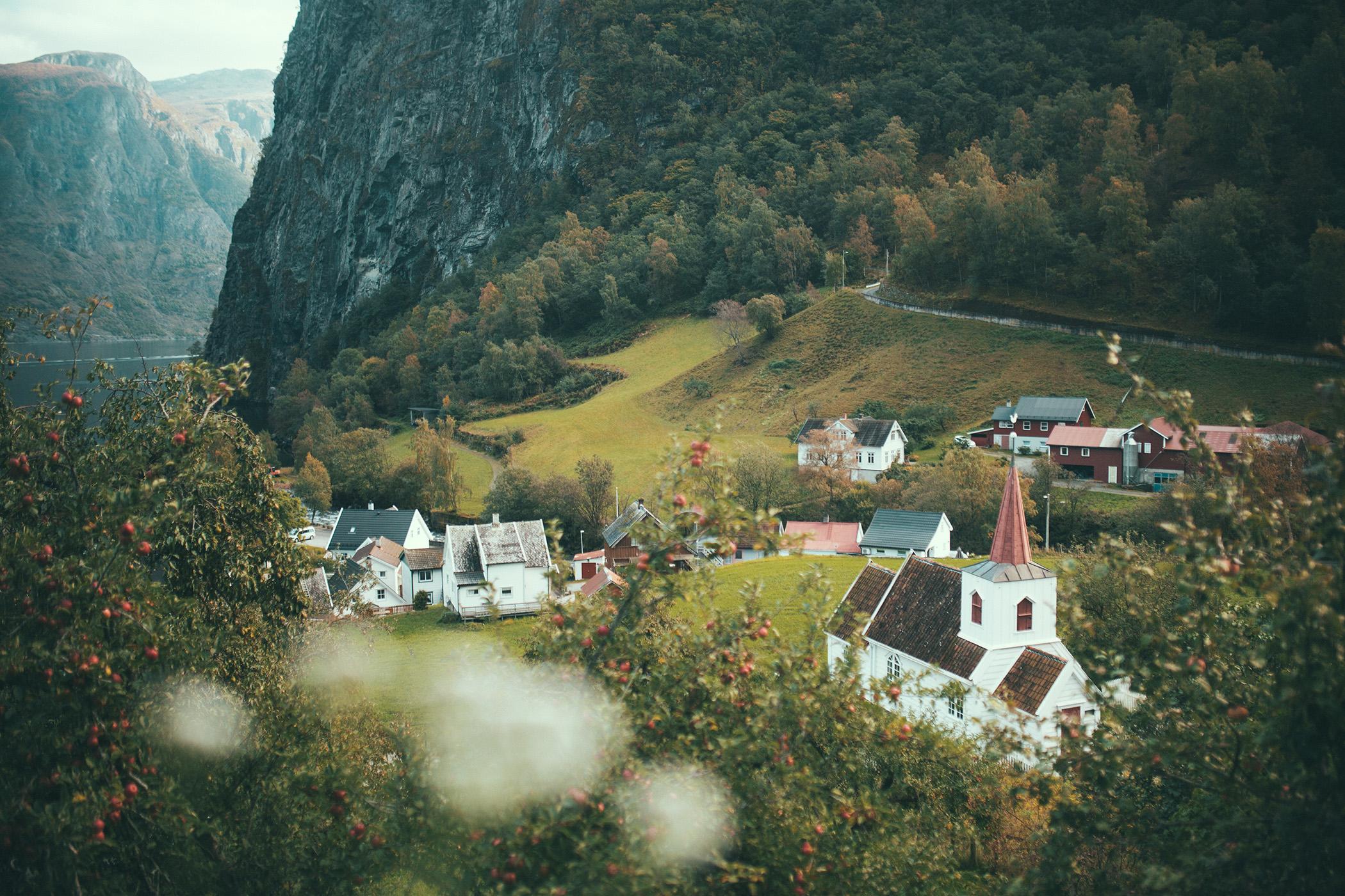 Undredal, kościół klepkowy, Norwegia