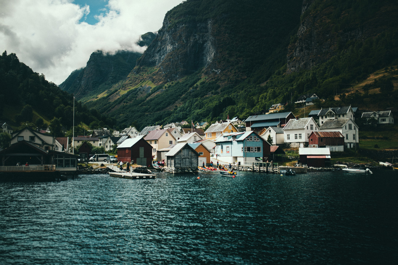 Undredal, port, Norwegia