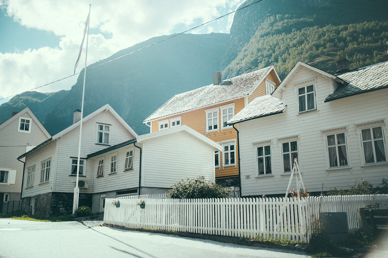 domki w Undredal, Norwegia