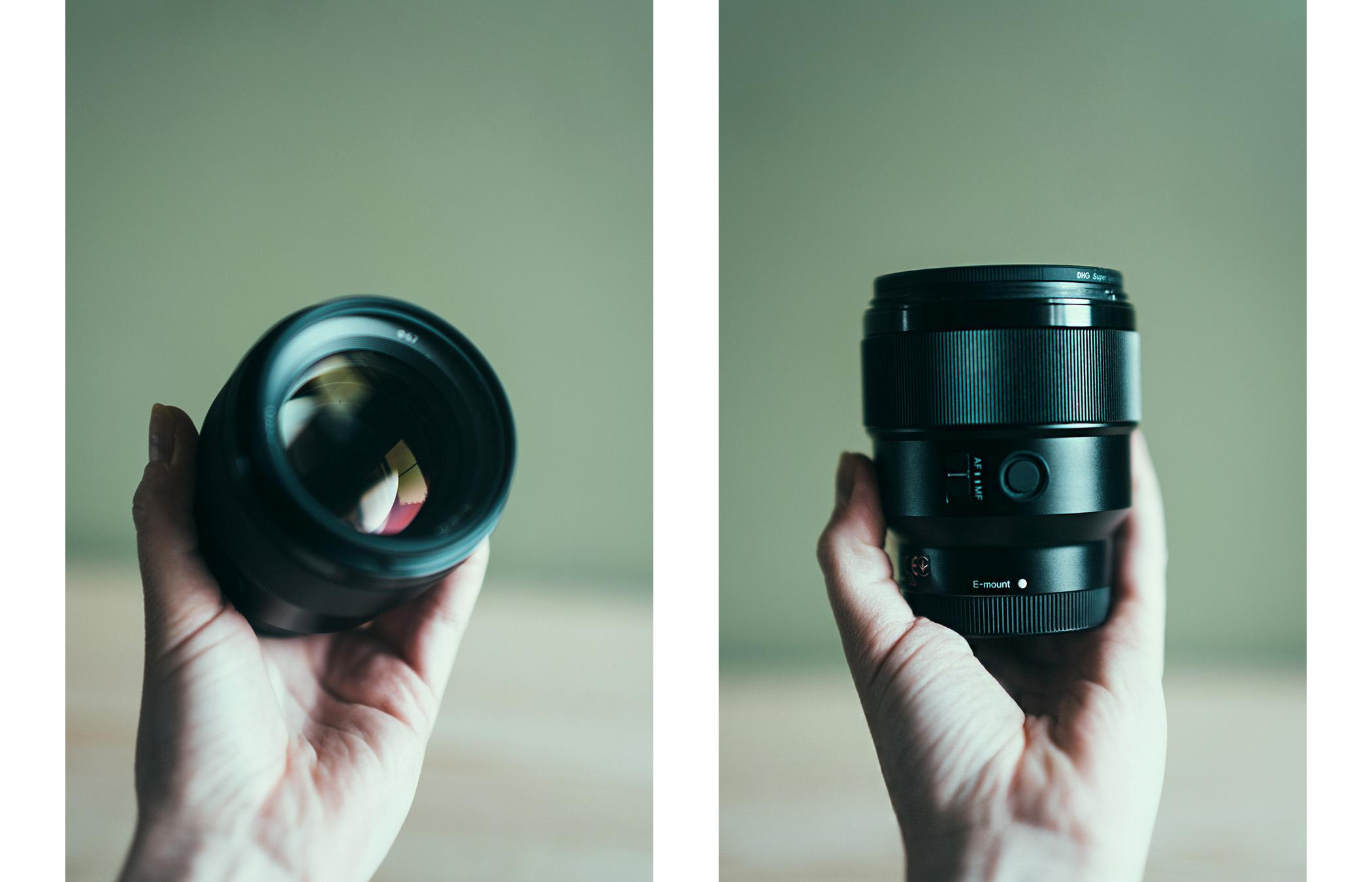 Sony 85 mm f/1.8