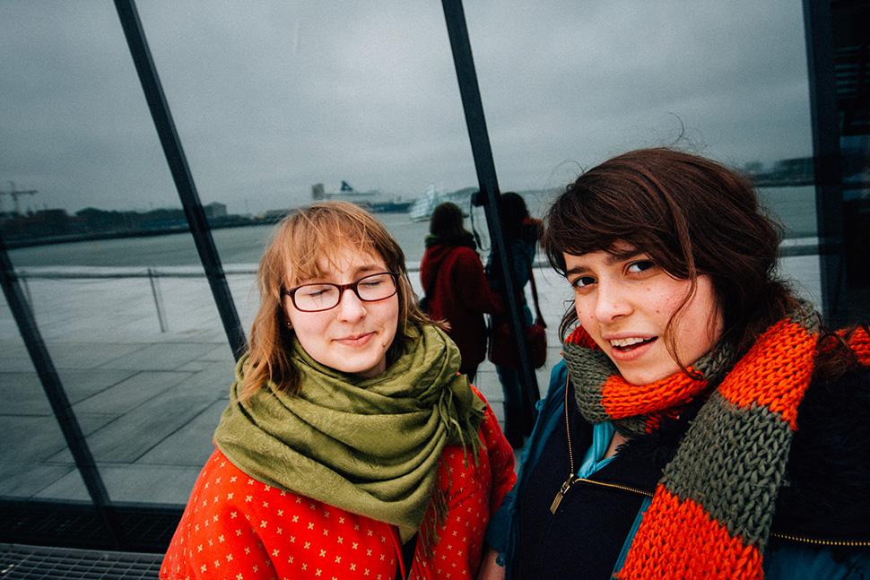 selfie, opera Oslo