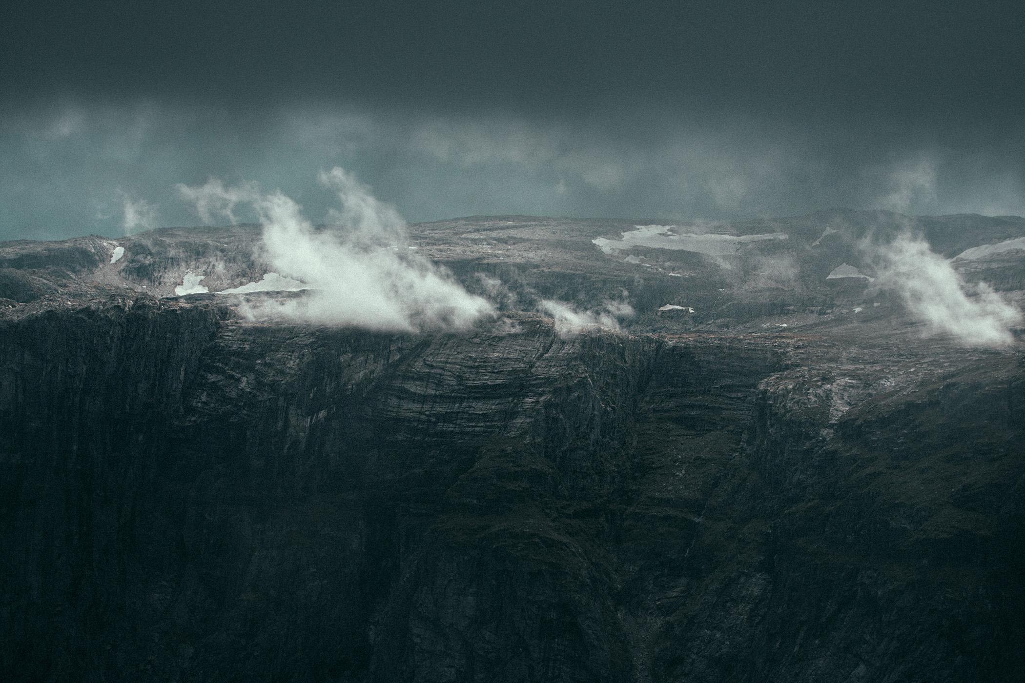 widoki na norweskie góry