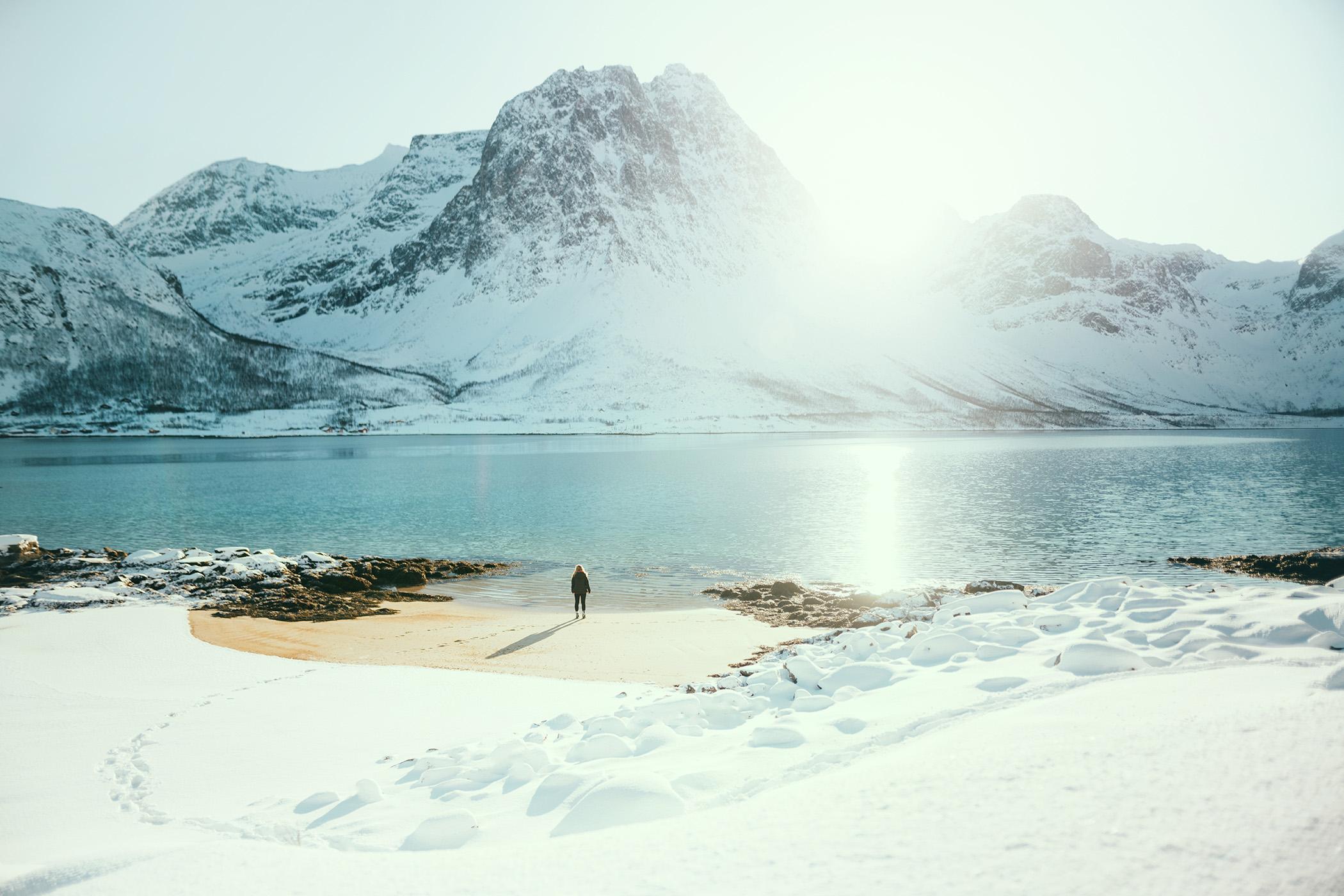 Grøtfjorden, Kvaløya