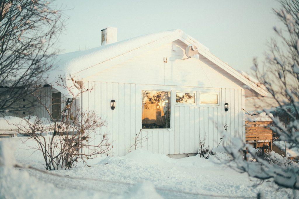 Skandynawia zimą