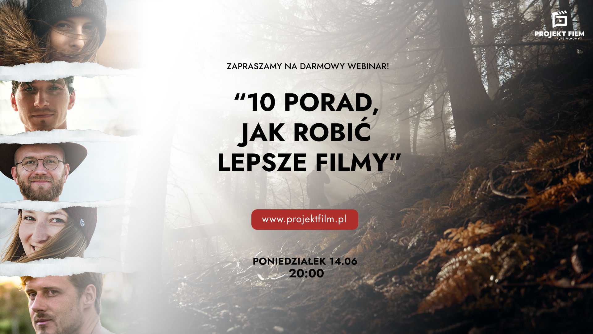 Darmowy Webinar Projekt Film
